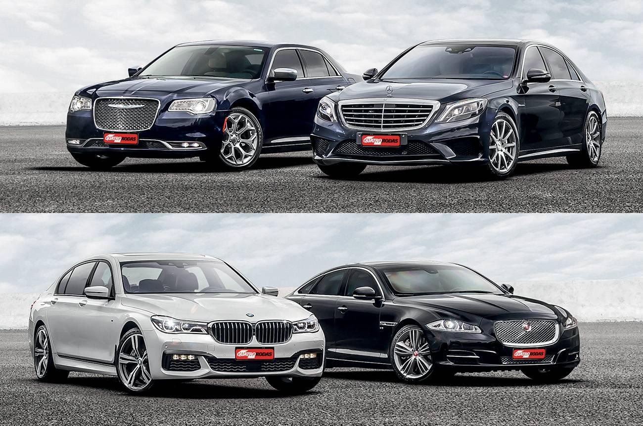 Chrysler 300C x Jaguar XJ x BMW 750i x Mercedes AMG S63